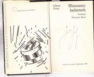 Autograf G.Grassa