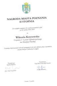 Dyplom Wiktorii